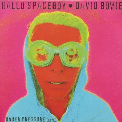 David Bowie Hello Spaceboy live