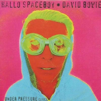 David Bowie Hallo Spaceboy live