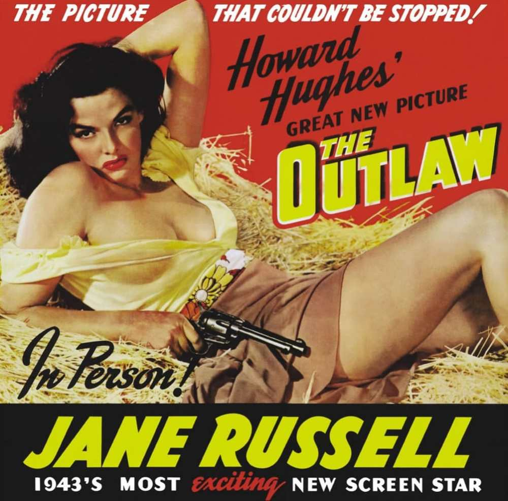 Jane Russell - The Outlaw (Le Banni)