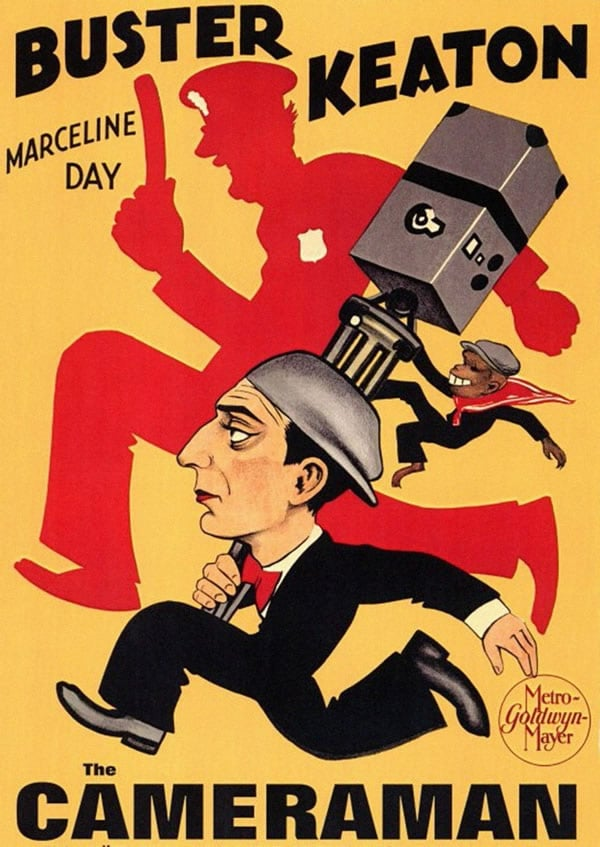 Affiche The Cameraman Buster Keaton
