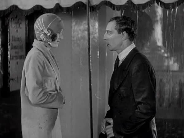 Buster Keaton et Marceline Day