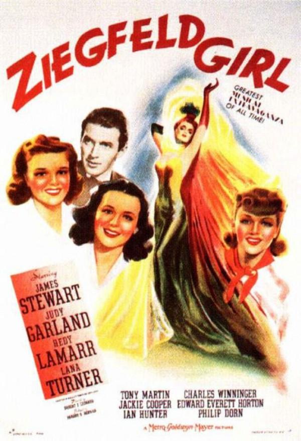 Affiche Ziegfeld Girl