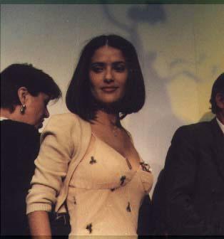 Salma Hayek Cannes 2000