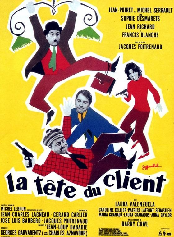 La Tête du Client - Jacques Potrenaud 1965