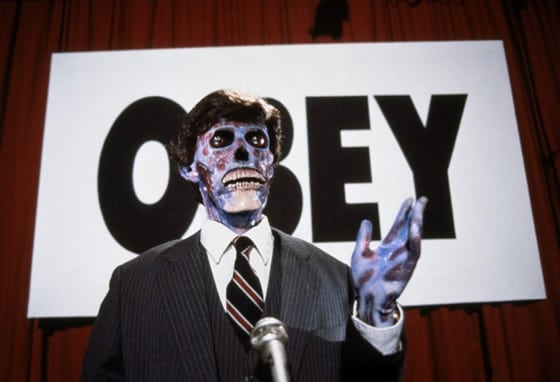 They Live John Carpenter Obey