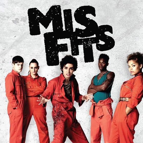Série télé Misfits