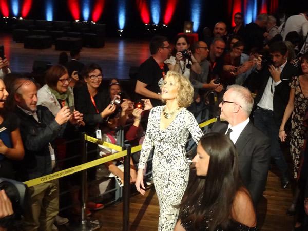 Jane Fonda invitée d'honneur du festival Lumière