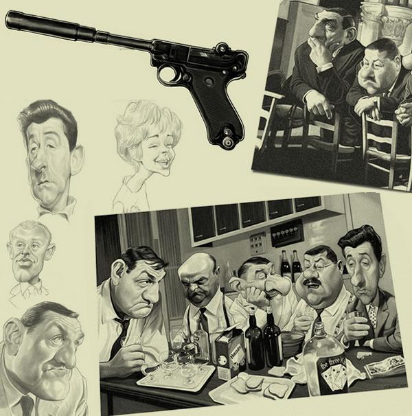 Les dessins de jean-Marc Borot