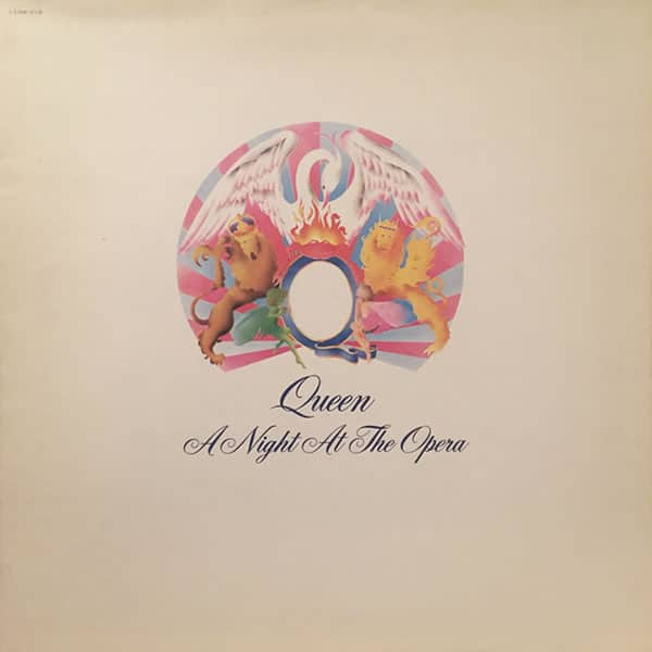 Queen Night At The Opera pochette recto