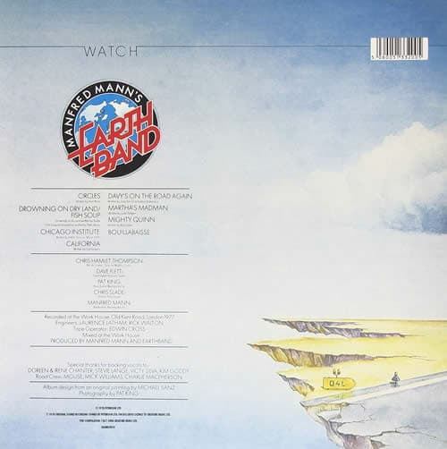 Manfred Mann's Earth Band cover verso