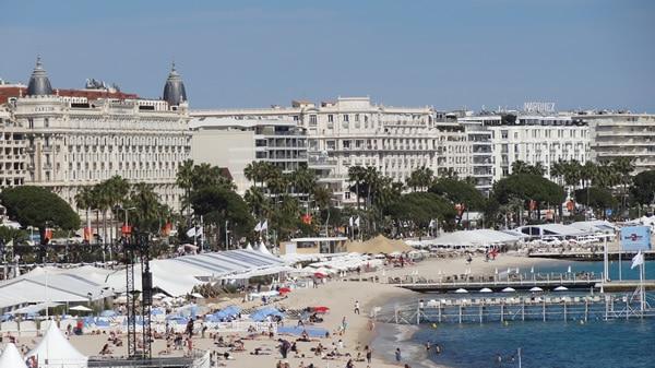 Cannes 2019, ses plages, ses vaguelettes