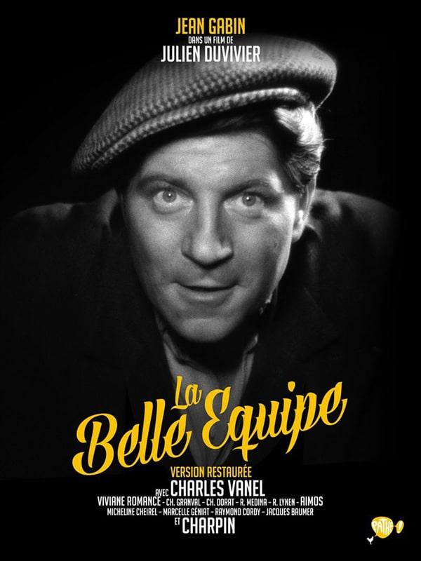 Jean Gabin dans La Belle Équipe