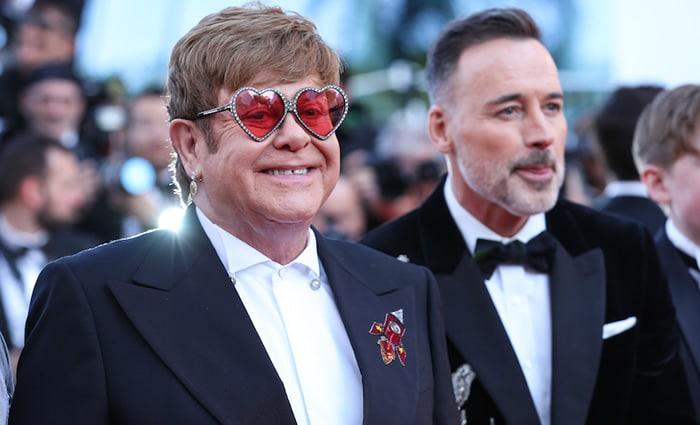 Elton John à Cannes