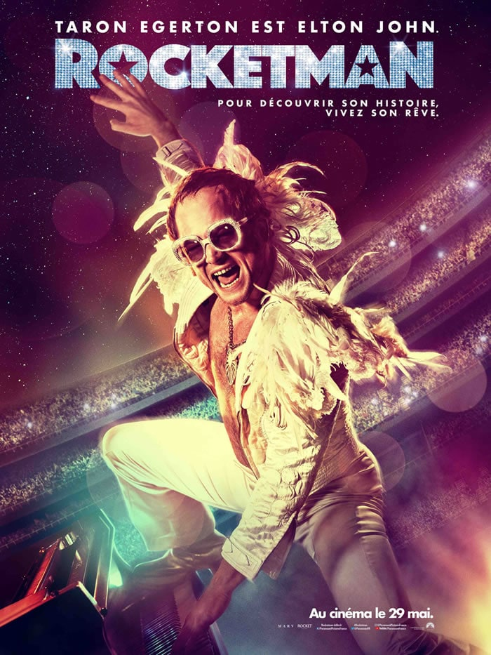 Rocketman l'affiche du film