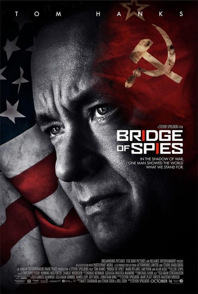 Le pont des espions affiche