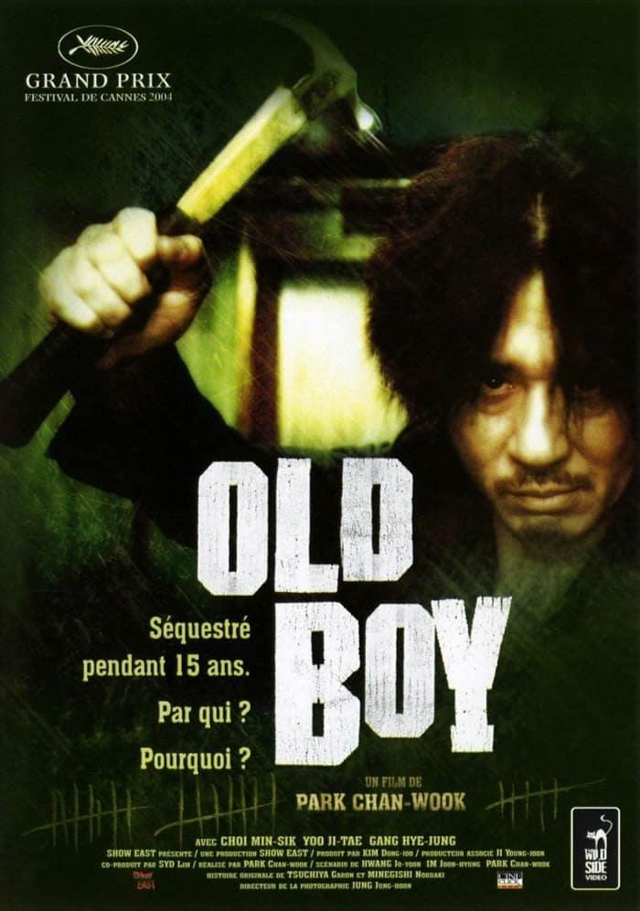 Old Boy film de confinement