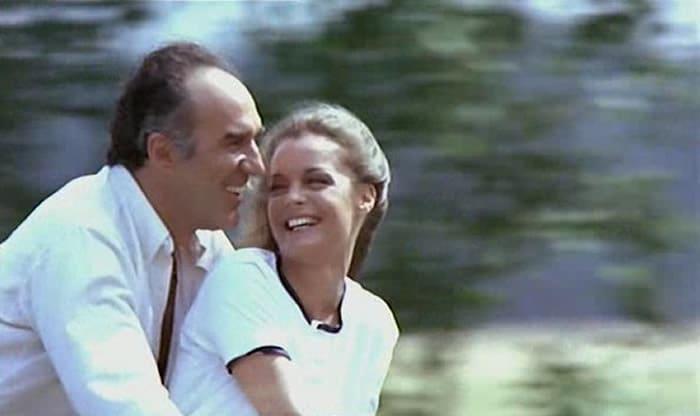 Michel Piccoli et Romy Schneider
