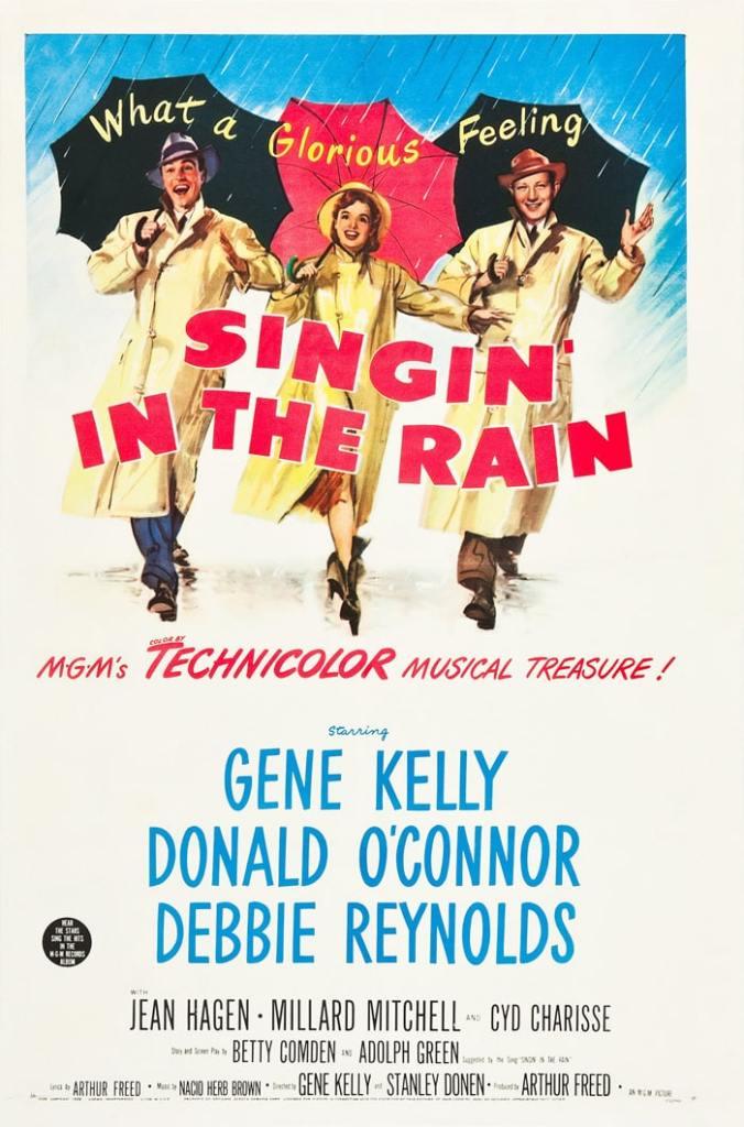 Chantons sous la pluie de et avec Gene Kelly