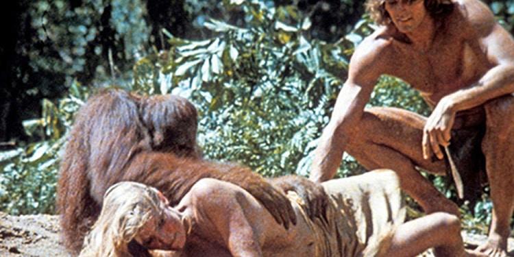 Tarzan et son singe