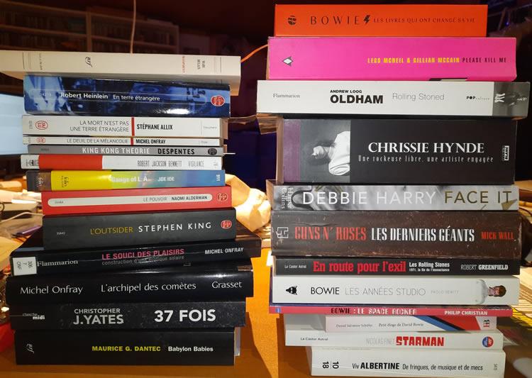 Mes livres à lire