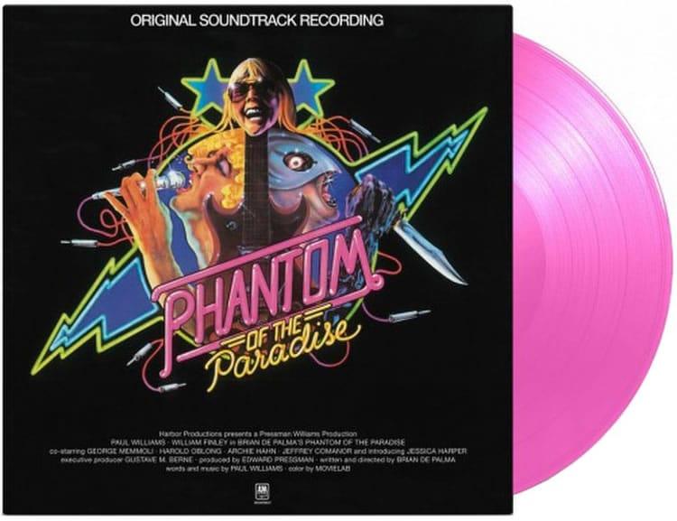 Réédition en vinyle rose de la musique signée Paul Williams.