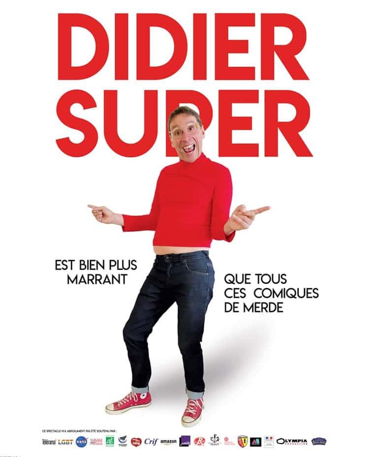 Affiche Didier Super