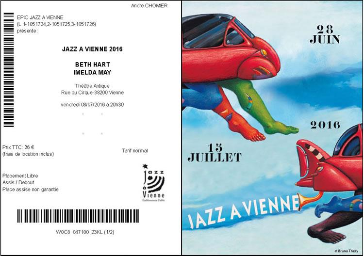 Imelda May et Beth Hart, Jazz à Vienne 2016