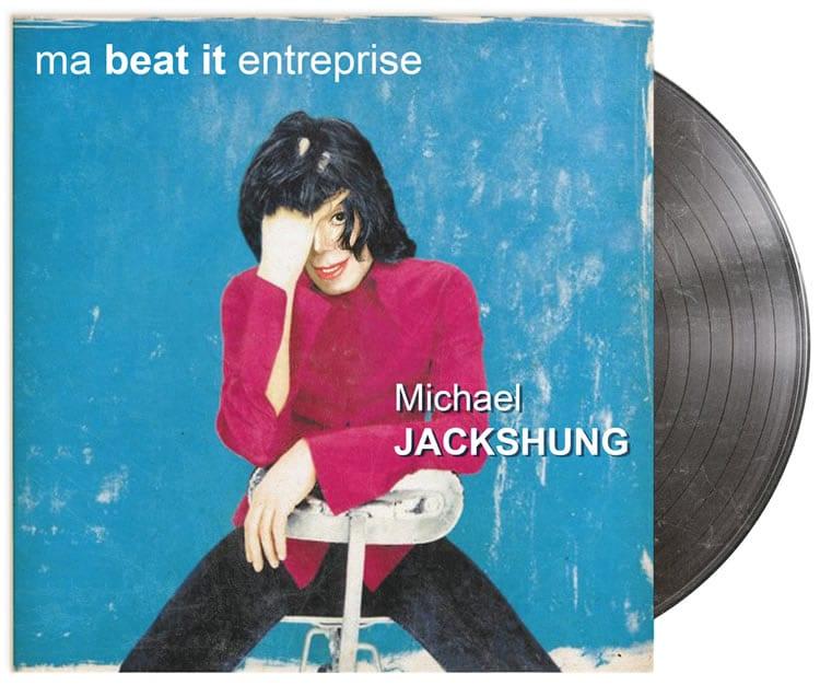 Michael Jackson et Alain Bashung dans la Discongraphie