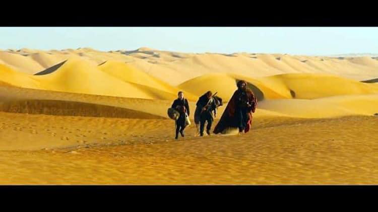 Le désert de Kaamelott