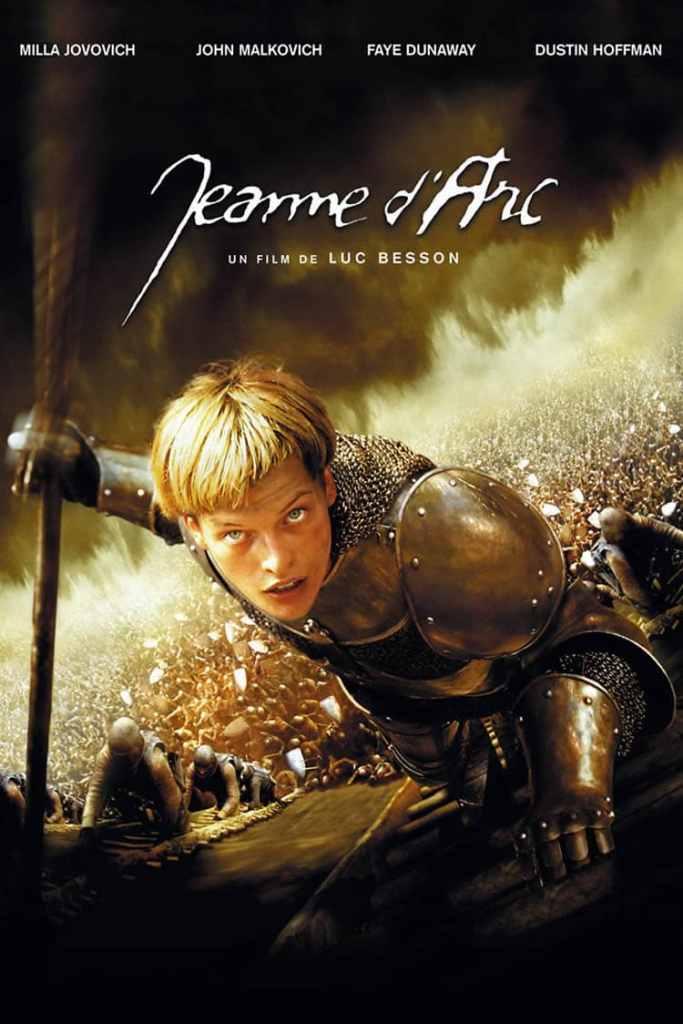 Affiche Jeanne d'Arc de Luc Besson