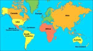 Aasian Kartta Overseas Asia Yleiskuvaus