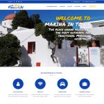 Marina in Town Mykonos - WordPress Website Development