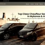 Mykonos car rental & Transfer - Website Development & WordPress Management