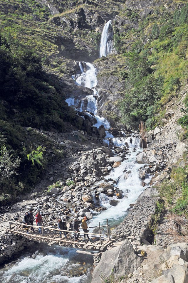 Rupsey Waterfalls is one of the most beautiful waterfalls located in Myagdi district.