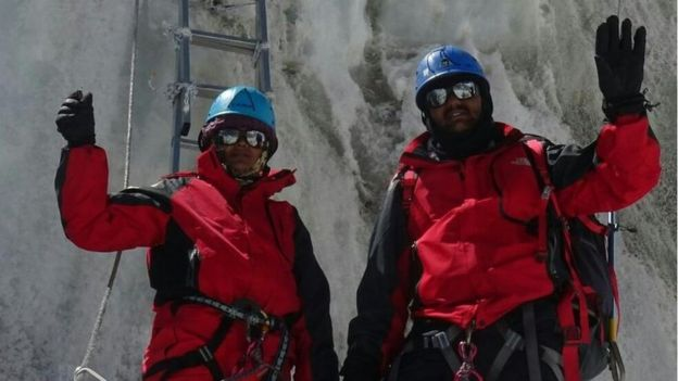 The company that assisted the couple insisted in July the pair's Everest conquest claims were true