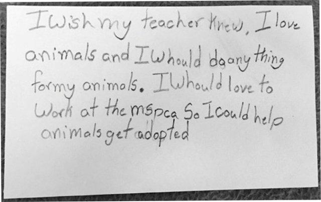 I wish my teacher knew 7