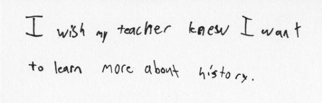 I wish my teacher knew 9