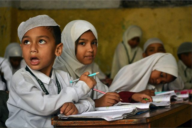 Special mention (c) UNESCO\Shikha Kiran Yadab  Breaking gender stereotypes: The Madarasa brings children of both gender under the same roof, a rare phenomenon in Islamic religion.