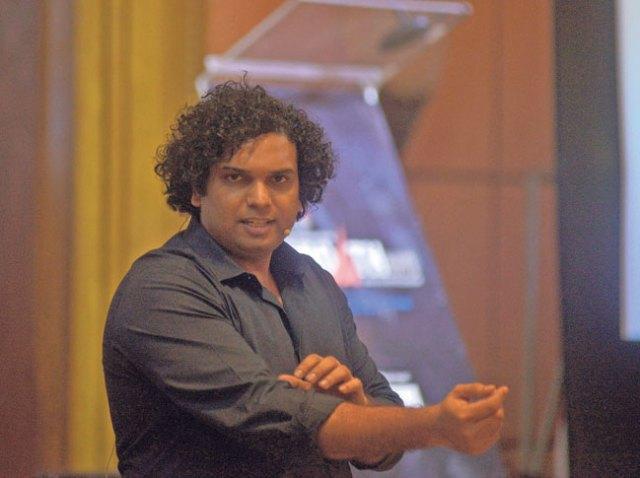 Indian author Sachin Garg.