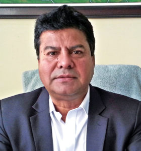 Gyanendra Karki, Spokesperson, KMC. Photo: THT