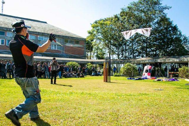 kite flying festival at Korean embassy