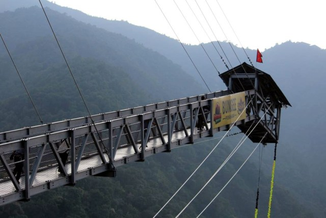 HighGround Adventures in Pokhara with Bungee Jumping