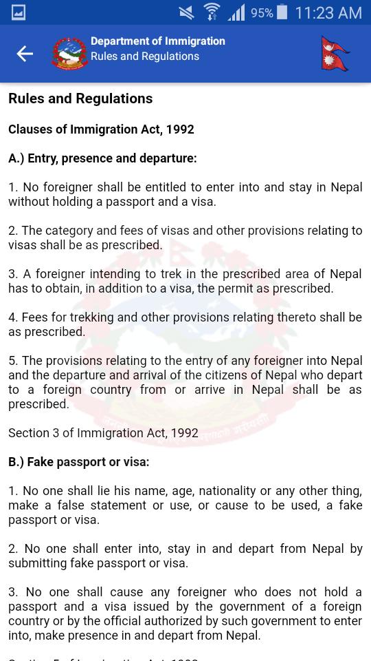 tia nepal immigration