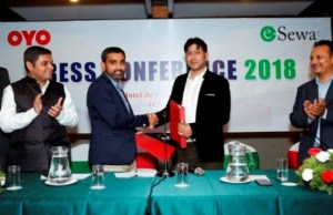 OYO and eSewa sign deal to promote online payments for hotel bookings