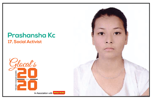 Prashansha KC: a Young Film Maker and Vlogger