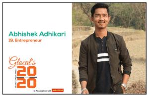 Abhishek Adhikari: A promising entrepreneur