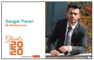 Saugat Tiwari : An Inspiring Teen Entrepreneur