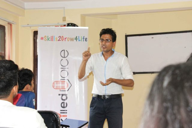 Third Session of Skilled Voice with Mr. Narottam Aryal