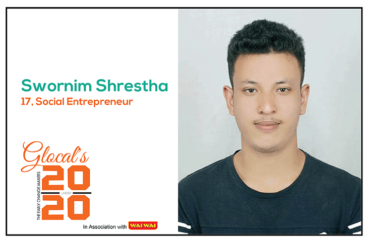 Swornim Shrestha: an Innovative Social Entrepreneur
