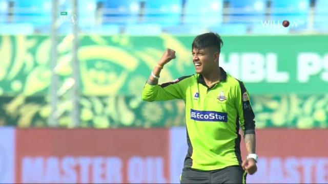 Sandeep Lamichhane with another Glorious Moment